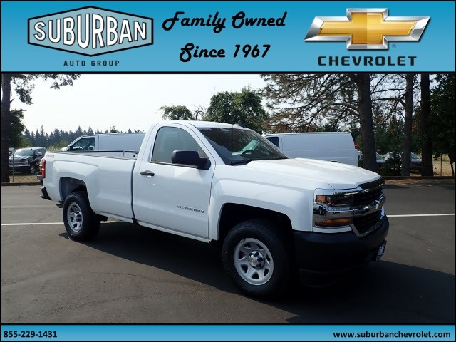 2017 Silverado 1500 Regular Cab 4x4 Pickup #T170718 - photo 6