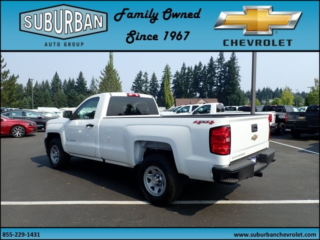 2017 Silverado 1500 Regular Cab 4x4 Pickup #T170718 - photo 2