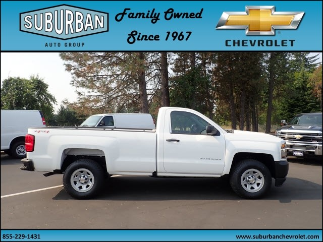 2017 Silverado 1500 Regular Cab 4x4 Pickup #T170718 - photo 5