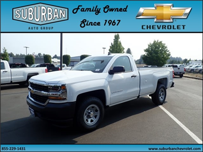 2017 Silverado 1500 Regular Cab 4x4, Pickup #T170718 - photo 1