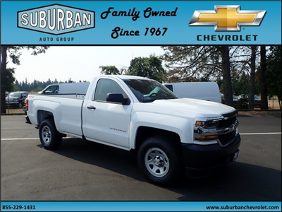 2017 Silverado 1500 Regular Cab 4x4, Pickup #T170718 - photo 6