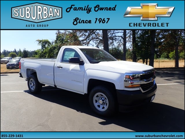 2017 Silverado 1500 Regular Cab 4x4 Pickup #T170720 - photo 6