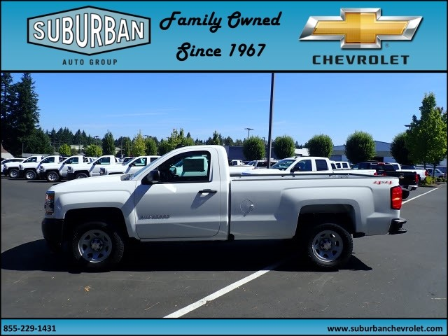 2017 Silverado 1500 Regular Cab 4x4 Pickup #T170720 - photo 3
