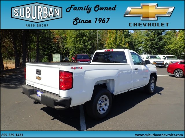 2017 Silverado 1500 Regular Cab 4x4 Pickup #T170720 - photo 4