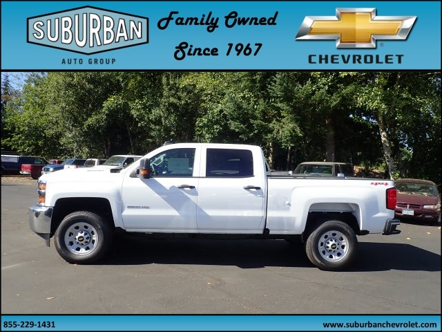 2017 Silverado 2500 Crew Cab 4x4 Pickup #T170769 - photo 3