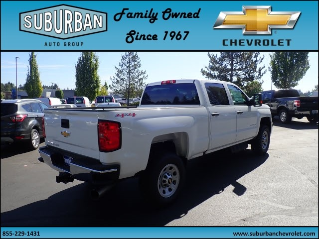 2017 Silverado 2500 Crew Cab 4x4 Pickup #T170769 - photo 4