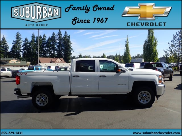 2017 Silverado 2500 Crew Cab 4x4 Pickup #T170769 - photo 5