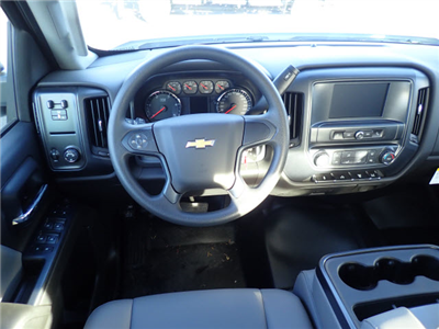 2017 Silverado 3500 Crew Cab DRW 4x2,  Reading Classic II Steel Service Body #T170893 - photo 8