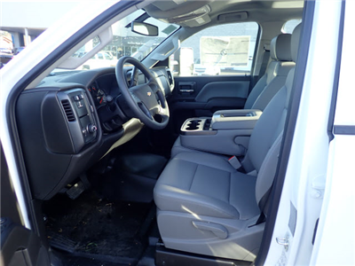 2017 Silverado 3500 Crew Cab DRW 4x2,  Reading Classic II Steel Service Body #T170893 - photo 9