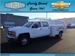 2017 Silverado 3500 Crew Cab DRW, Reading Service Body #T170893 - photo 1