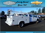 2017 Silverado 3500 Crew Cab DRW 4x2,  Reading Classic II Steel Service Body #T170893 - photo 4