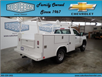 2017 Silverado 3500 Regular Cab DRW 4x4, Reading Classic II Steel Service Body #T170940 - photo 4