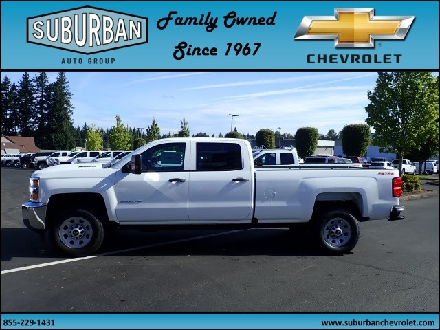 2018 Silverado 3500 Crew Cab 4x4 Pickup #T180040 - photo 3
