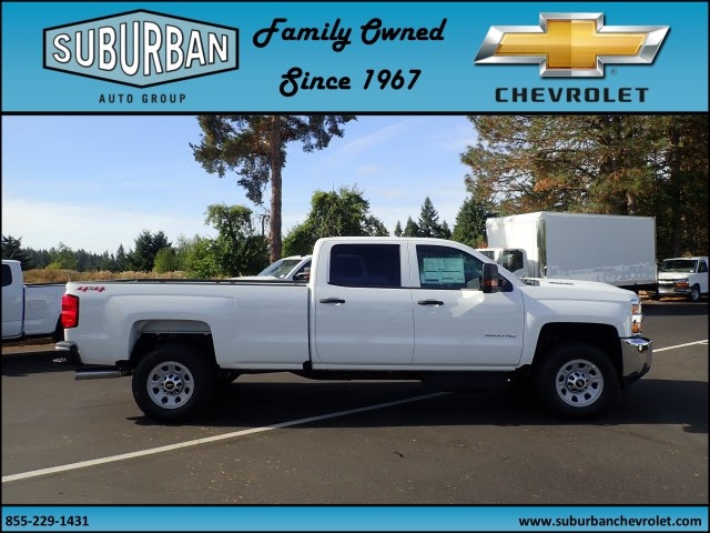 2018 Silverado 3500 Crew Cab 4x4 Pickup #T180040 - photo 5