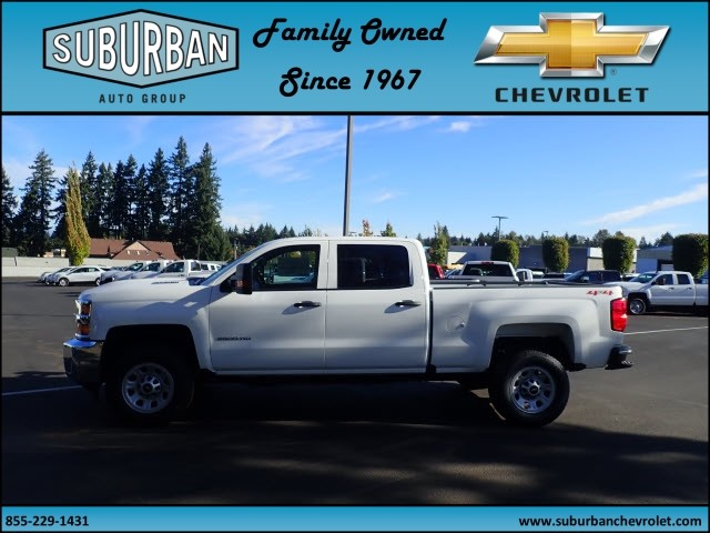 2018 Silverado 2500 Crew Cab 4x4 Pickup #T180053 - photo 3