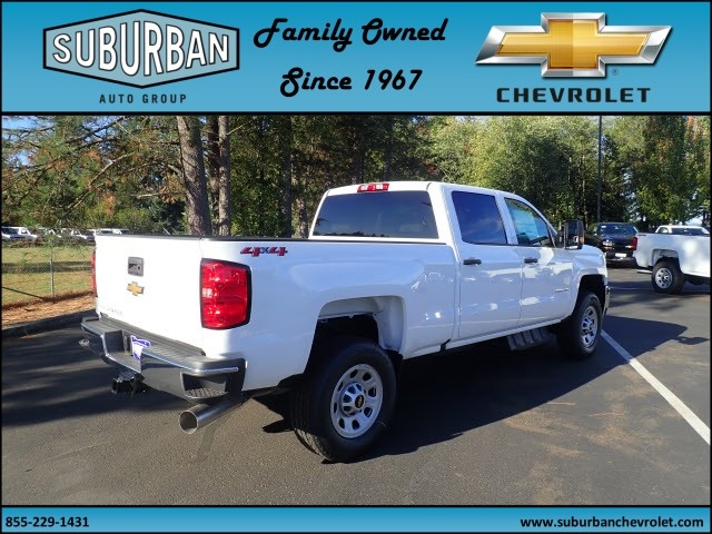 2018 Silverado 2500 Crew Cab 4x4 Pickup #T180053 - photo 4