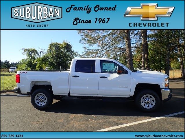 2018 Silverado 2500 Crew Cab 4x4 Pickup #T180053 - photo 5