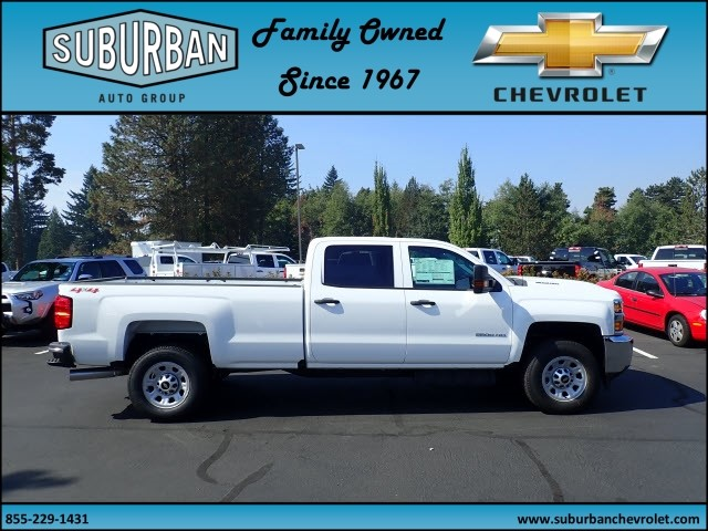 2018 Silverado 2500 Crew Cab 4x4 Pickup #T180055 - photo 5