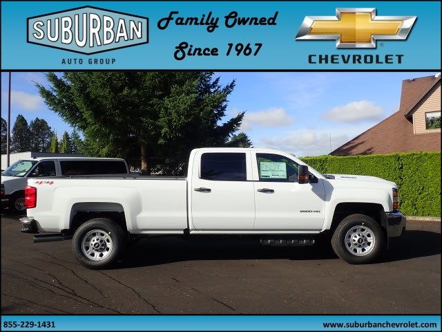 2018 Silverado 2500 Crew Cab 4x4, Pickup #T180056 - photo 5