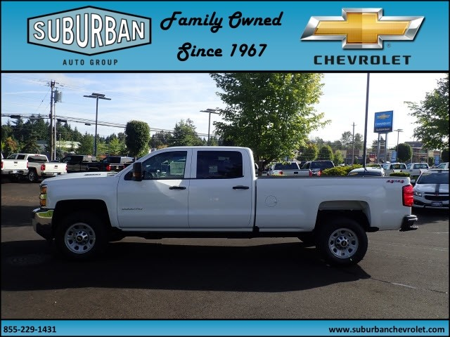 2018 Silverado 2500 Crew Cab 4x4 Pickup #T180056 - photo 3