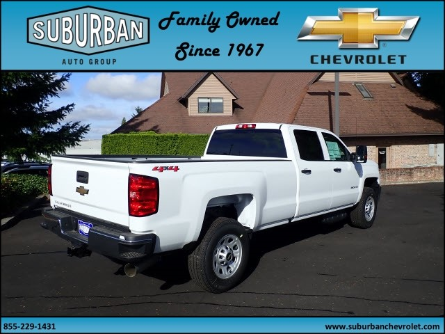 2018 Silverado 2500 Crew Cab 4x4 Pickup #T180056 - photo 4