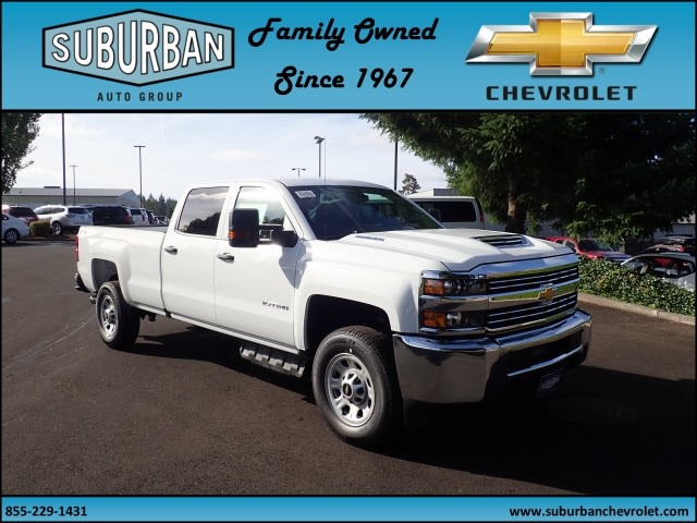 2018 Silverado 2500 Crew Cab 4x4 Pickup #T180056 - photo 6