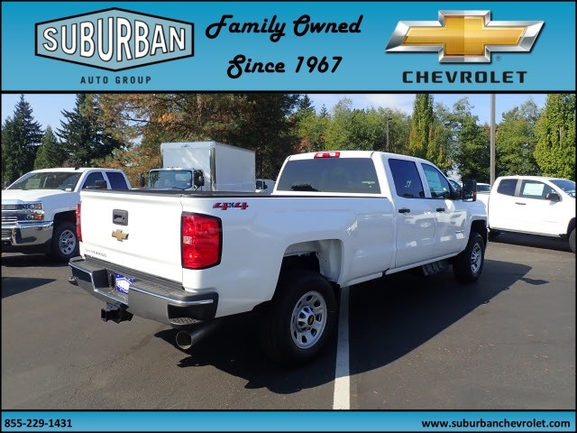 2018 Silverado 2500 Crew Cab 4x4 Pickup #T180069 - photo 4
