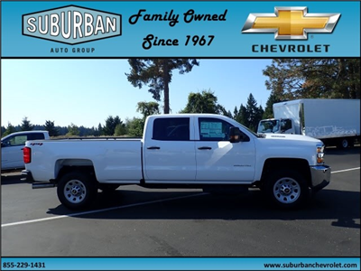 2018 Silverado 2500 Crew Cab 4x4 Pickup #T180069 - photo 5