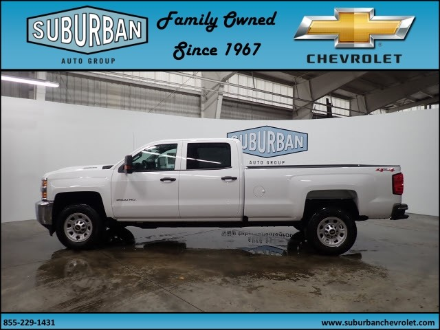 2018 Silverado 2500 Crew Cab 4x4 Pickup #T180187 - photo 3