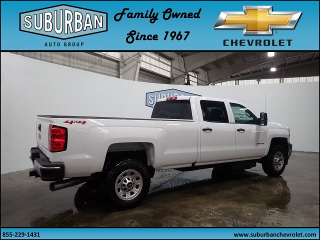 2018 Silverado 2500 Crew Cab 4x4 Pickup #T180187 - photo 4