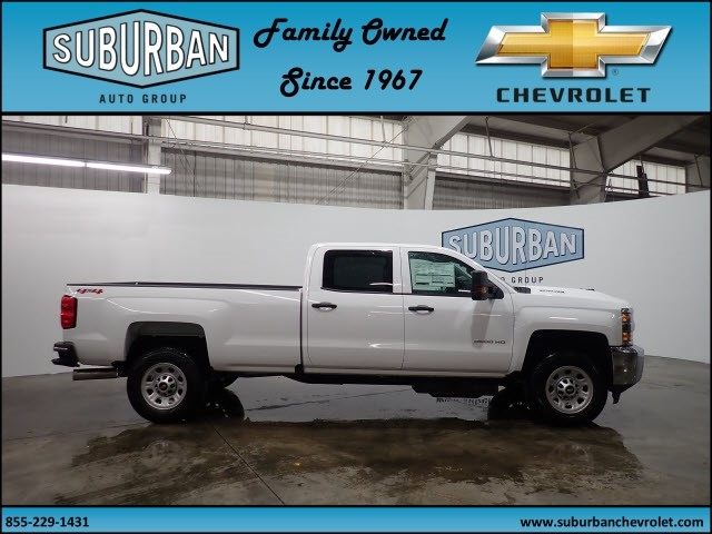 2018 Silverado 2500 Crew Cab 4x4 Pickup #T180187 - photo 5