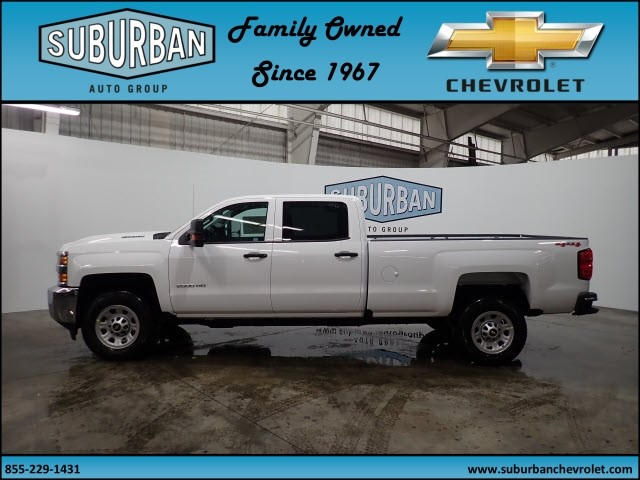 2018 Silverado 2500 Crew Cab 4x4 Pickup #T180193 - photo 3