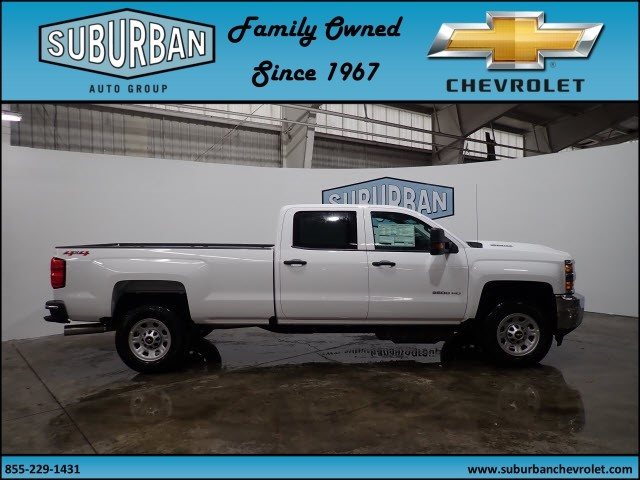 2018 Silverado 2500 Crew Cab 4x4 Pickup #T180193 - photo 5
