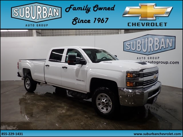 2018 Silverado 2500 Crew Cab 4x4 Pickup #T180193 - photo 6