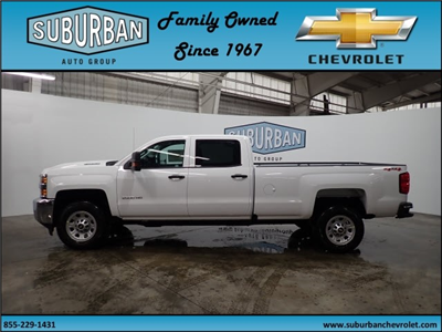2018 Silverado 2500 Crew Cab 4x4, Pickup #T180193 - photo 3