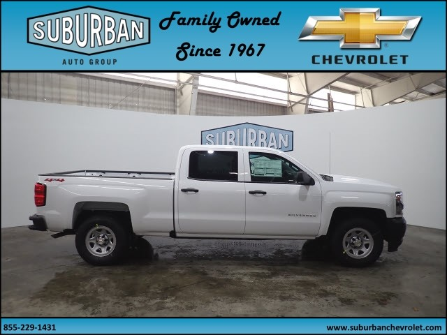 2018 Silverado 1500 Crew Cab 4x4, Pickup #T180219 - photo 5
