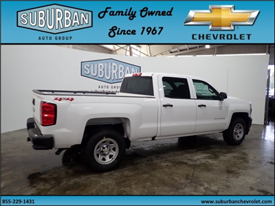 2018 Silverado 1500 Crew Cab 4x4, Pickup #T180219 - photo 4