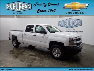 2018 Silverado 1500 Crew Cab 4x4, Pickup #T180219 - photo 6