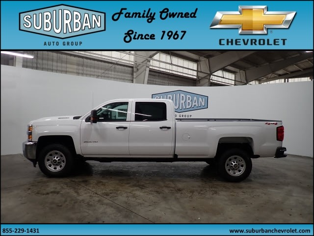 2018 Silverado 2500 Crew Cab 4x4, Pickup #T180249 - photo 3