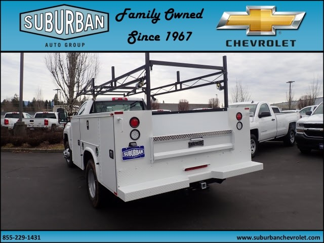 2018 Silverado 3500 Regular Cab DRW 4x4,  Knapheide Standard Service Body #T180251 - photo 2