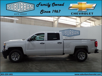 2018 Silverado 1500 Crew Cab 4x4,  Pickup #T180254 - photo 3