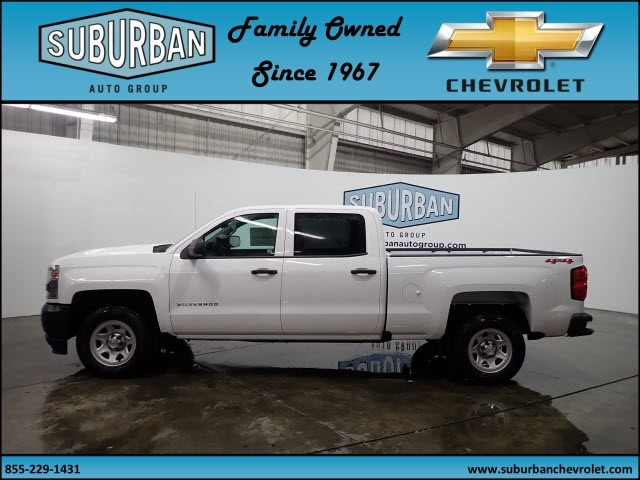 2018 Silverado 1500 Crew Cab 4x4, Pickup #T180255 - photo 3