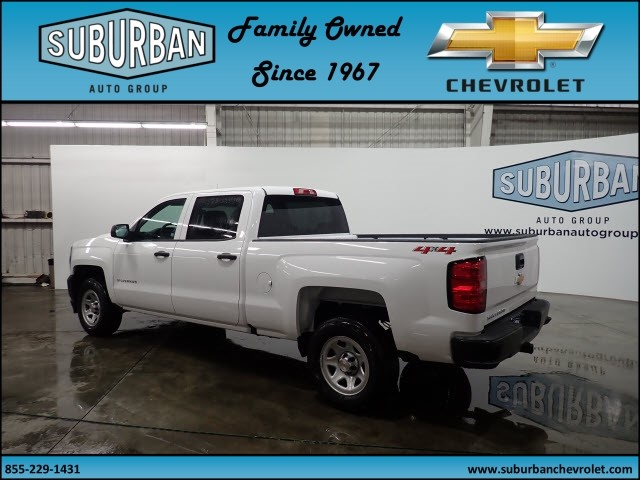 2018 Silverado 1500 Crew Cab 4x4, Pickup #T180255 - photo 2