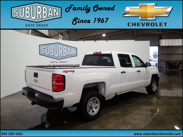 2018 Silverado 1500 Crew Cab 4x4, Pickup #T180255 - photo 4