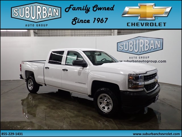 2018 Silverado 1500 Crew Cab 4x4, Pickup #T180255 - photo 6