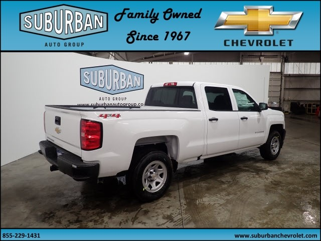 2018 Silverado 1500 Crew Cab 4x4, Pickup #T180272 - photo 4