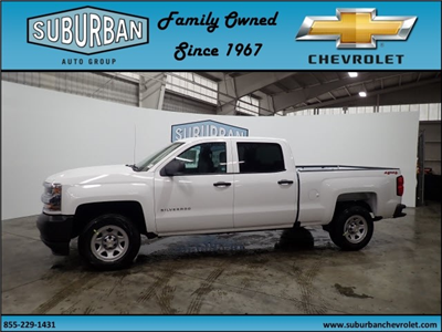 2018 Silverado 1500 Crew Cab 4x4, Pickup #T180272 - photo 1