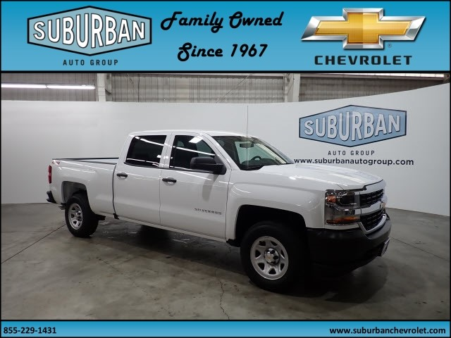 2018 Silverado 1500 Crew Cab 4x4,  Pickup #T180307 - photo 6