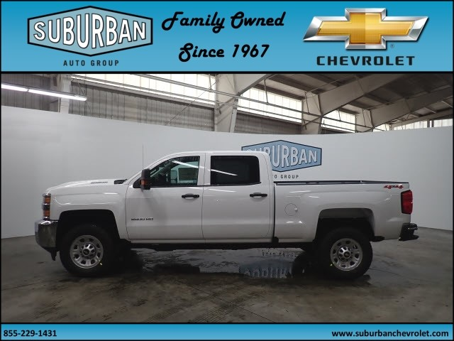 2018 Silverado 2500 Crew Cab 4x4, Pickup #T180341 - photo 3