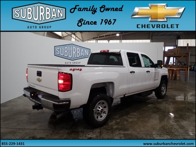 2018 Silverado 2500 Crew Cab 4x4, Pickup #T180341 - photo 4